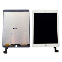Ansamblu Display LCD  + Touchscreen Apple iPad Air 2 A1566 ORIGINAL Alb. Modul Ecran + Digitizer Apple iPad Air 2 A1566 ORIGINAL Alb