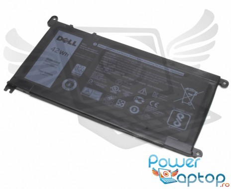 Baterie Dell  Y3F7Y Originala 42Wh. Acumulator Dell  Y3F7Y. Baterie laptop Dell  Y3F7Y. Acumulator laptop Dell  Y3F7Y. Baterie notebook Dell  Y3F7Y