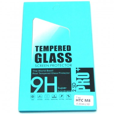 Folie protectie sticla securizata tempered glass HTC One M8