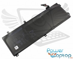 Baterie Dell XPS 15 9570 Originala. Acumulator Dell XPS 15 9570. Baterie laptop Dell XPS 15 9570. Acumulator laptop Dell XPS 15 9570. Baterie notebook Dell XPS 15 9570