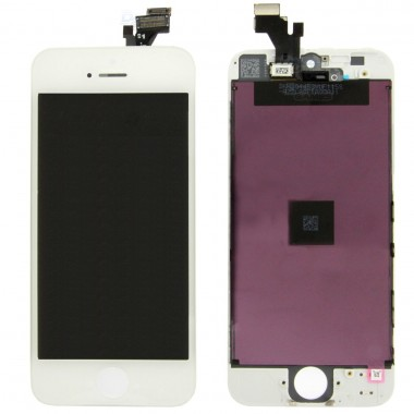 Ansamblu Display LCD + Touchscreen Apple iPhone 5 Alb White. Ecran + Digitizer Apple iPhone 5 Alb White