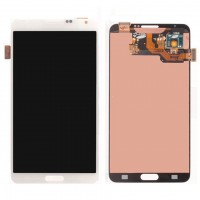Ansamblu Display LCD + Touchscreen Samsung Galaxy Note 3 3G N9000 White Alb ORIGINAL. Ecran + Digitizer Samsung Galaxy Note 3 3G N9000 White Alb ORIGINAL