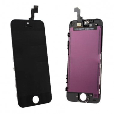 Ansamblu Display LCD + Touchscreen Apple iPhone 5C Negru Black. Ecran + Digitizer Apple iPhone 5C Negru Black