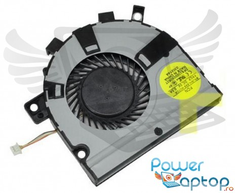 Cooler laptop Toshiba Satellite E45. Ventilator procesor Toshiba Satellite E45. Sistem racire laptop Toshiba Satellite E45