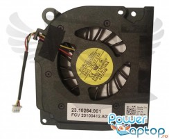 Cooler laptop Dell Inspiron 1545. Ventilator procesor Dell Inspiron 1545. Sistem racire laptop Dell Inspiron 1545