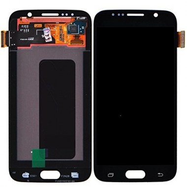 Ansamblu Display LCD + Touchscreen Samsung Galaxy S6 G920F G20 Blue Albastru ORIGINAL. Ecran + Digitizer Samsung Galaxy S6 G920F G20 Blue Albastru ORIGINAL