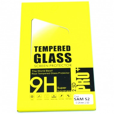 Folie protectie sticla securizata tempered glass Samsung i9100 Galaxy S2