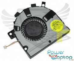 Cooler laptop Toshiba Satellite E55. Ventilator procesor Toshiba Satellite E55. Sistem racire laptop Toshiba Satellite E55