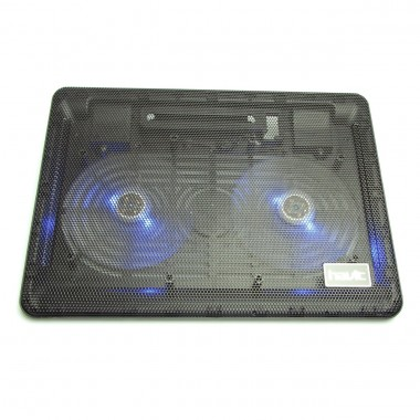 Cooler Stand Laptop Notebook Havit 2 Ventilatoare cu Slot USB si LED