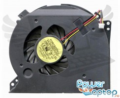 Cooler laptop Dell XPS 17 L701X. Ventilator procesor Dell XPS 17 L701X. Sistem racire laptop Dell XPS 17 L701X