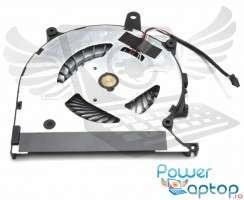 Cooler laptop Sony Vaio Pro 13 SVP132A. Ventilator procesor Sony Vaio Pro 13 SVP132A. Sistem racire laptop Sony Vaio Pro 13 SVP132A