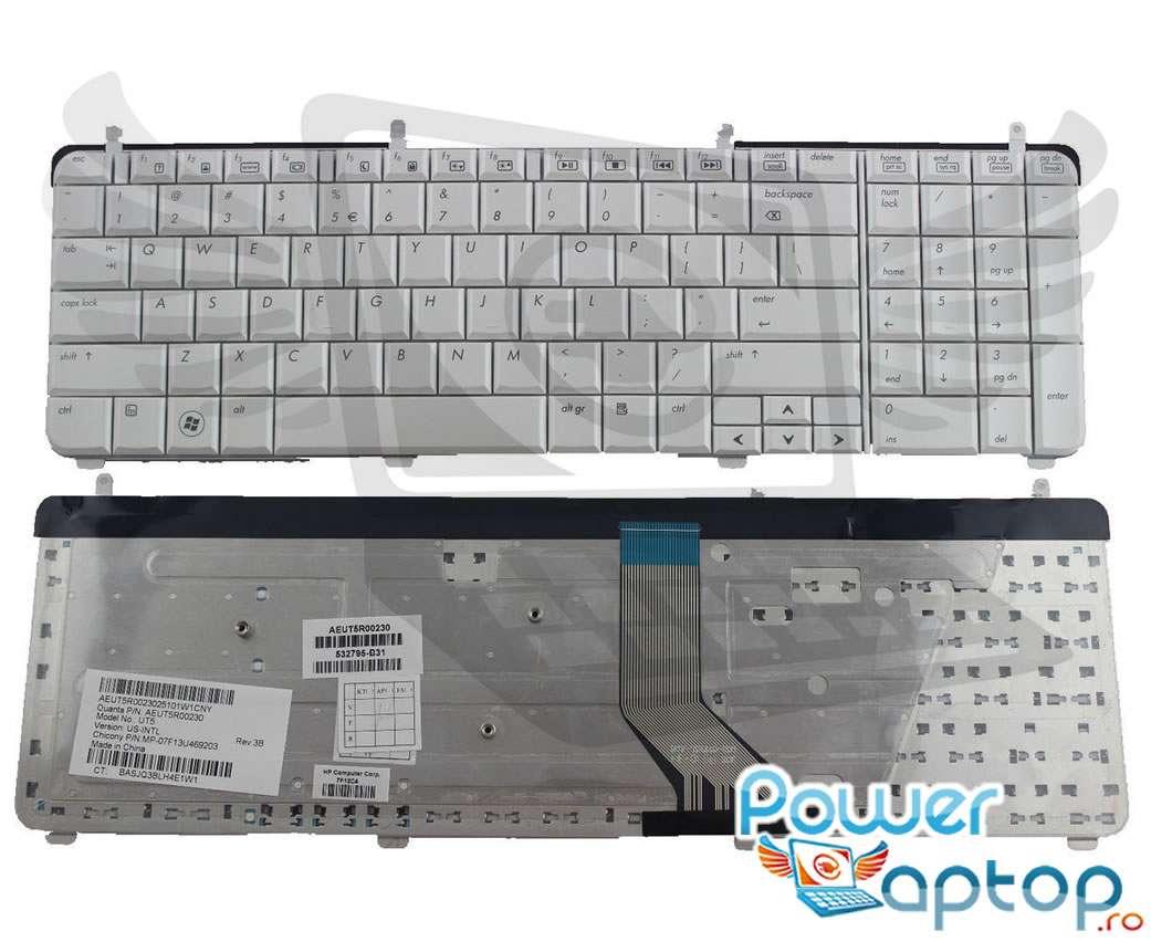 Tastatura HP Pavilion dv7 2240 Alba imagine powerlaptop.ro 2021