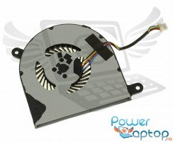 Cooler laptop Dell Inspiron 13 7368. Ventilator procesor Dell Inspiron 13 7368. Sistem racire laptop Dell Inspiron 13 7368