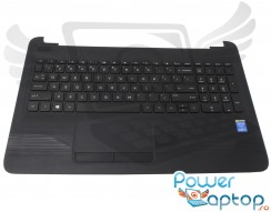 Tastatura HP  15Z-AF neagra cu Palmrest si Touchpad. Keyboard HP  15Z-AF neagra cu Palmrest si Touchpad. Tastaturi laptop HP  15Z-AF neagra cu Palmrest si Touchpad. Tastatura notebook HP  15Z-AF neagra cu Palmrest si Touchpad