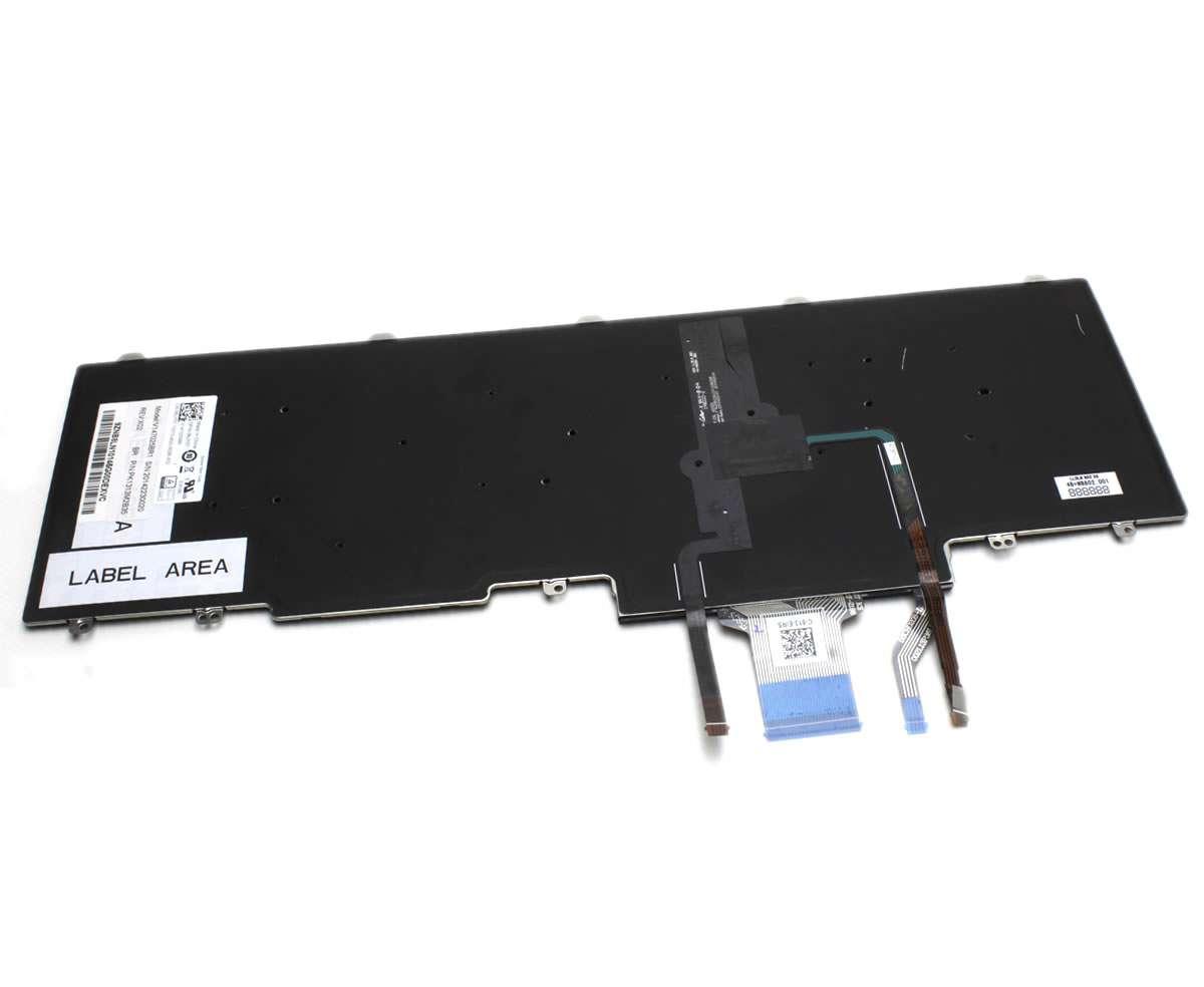 Tastatura Dell Latitude 15 5580 iluminata layout UK fara rama enter mare imagine powerlaptop.ro 2021