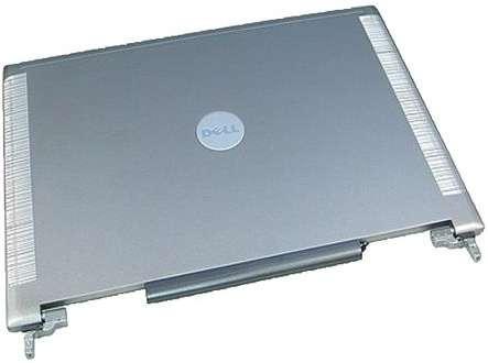 Capac Display BackCover Dell Latitude D631 Carcasa Display Silver / Gri imagine