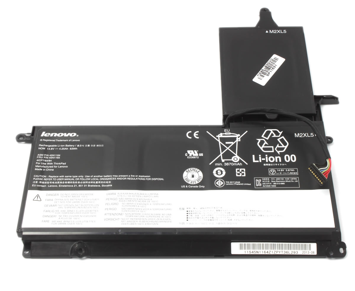Baterie Lenovo 45N1166 4 celule Originala imagine powerlaptop.ro 2021