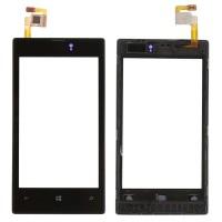 Touchscreen Digitizer Nokia Lumia 520 cu Rama. Geam Sticla Smartphone Telefon Mobil Nokia Lumia 520 cu Rama