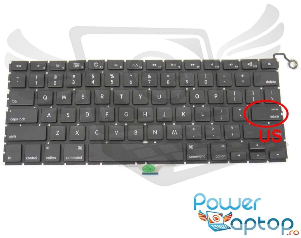 Tastatura Apple MacBook Air 13 MB543 layout US fara rama enter mic imagine