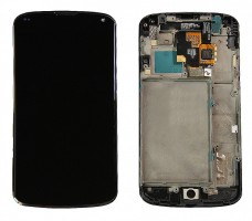 Ansamblu Display LCD LG Nexus 4 E960 + Touchscreen LG Nexus 4 E960 ORIGINAL