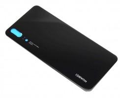 Capac Baterie Huawei P20 Negru Black. Capac Spate Huawei P20 Negru Black