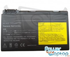 Baterie Acer Aspire 9500. Acumulator Acer Aspire 9500. Baterie laptop Acer Aspire 9500. Acumulator laptop Acer Aspire 9500. Baterie notebook Acer Aspire 9500