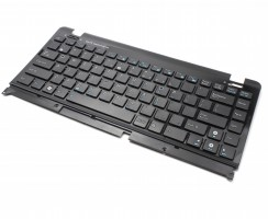 Tastatura Asus EEE PC 1215 neagra cu Rama neagra. Keyboard Asus EEE PC 1215 neagra cu Rama neagra. Tastaturi laptop Asus EEE PC 1215 neagra cu Rama neagra. Tastatura notebook Asus EEE PC 1215 neagra cu Rama neagra