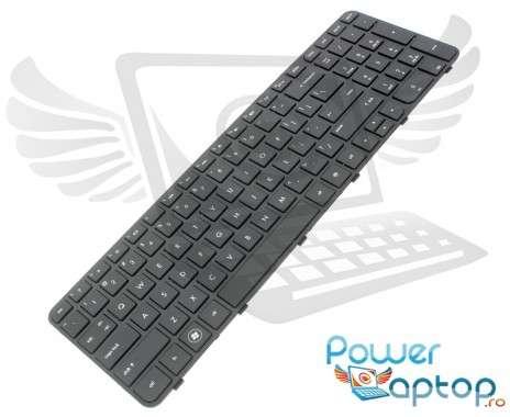 Tastatura HP  684650 061 neagra. Keyboard HP  684650 061 neagra. Tastaturi laptop HP  684650 061 neagra. Tastatura notebook HP  684650 061 neagra