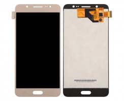 Ansamblu Display LCD + Touchscreen Samsung Galaxy J5 Duos 2016 J510 TFT LCD Gold Auriu . Ecran + Digitizer Samsung Galaxy J5 Duos 2016 J510 TFT LCD Gold Auriu