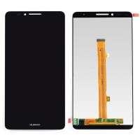 Ansamblu Display LCD + Touchscreen Huawei Mate 7 Black Negru . Ecran + Digitizer Huawei Mate 7 Black Negru
