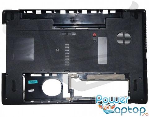Bottom Packard Bell Easynote TK36 60.R4F02.002. Carcasa Inferioara Packard Bell Easynote TK36 Neagra