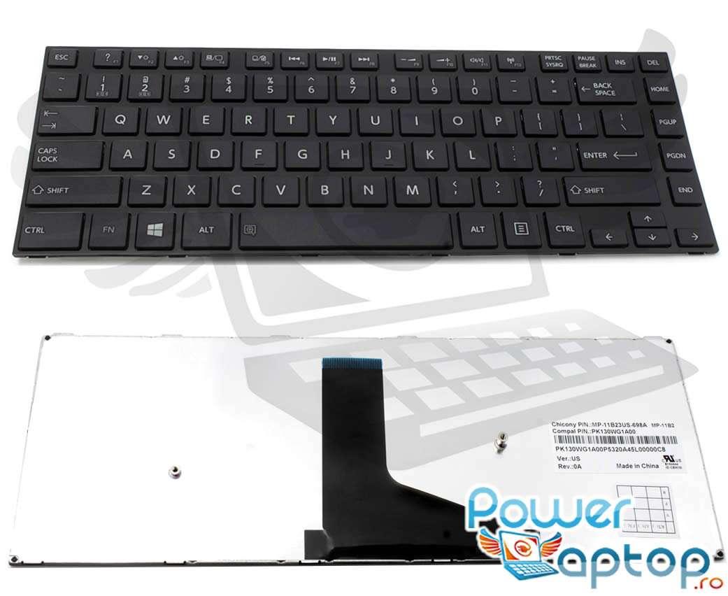 Tastatura Toshiba PK130WG1A00 imagine