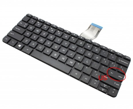 Tastatura HP 11-N011DX. Keyboard HP 11-N011DX. Tastaturi laptop HP 11-N011DX. Tastatura notebook HP 11-N011DX