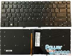 Tastatura Acer Aspire R7-572G Series iluminata backlit. Keyboard Acer Aspire R7-572G Series iluminata backlit. Tastaturi laptop Acer Aspire R7-572G Series iluminata backlit. Tastatura notebook Acer Aspire R7-572G Series iluminata backlit