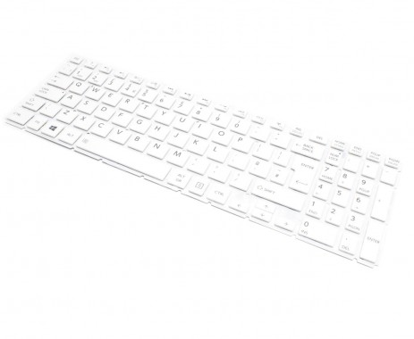 Tastatura Toshiba Radius P55W-B Alba. Keyboard Toshiba Radius P55W-B. Tastaturi laptop Toshiba Radius P55W-B. Tastatura notebook Toshiba Radius P55W-B