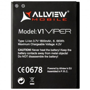 Baterie Allview V1 Viper Acumulator Allview V1 Viper. Baterie telefon Allview V1 Viper. Acumulator telefon Allview V1 Viper. Baterie smartphone Allview V1 Viper