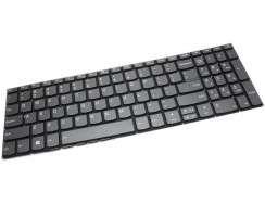 Tastatura Lenovo IdeaPad 320-15AST Taste gri iluminata backlit. Keyboard Lenovo IdeaPad 320-15AST Taste gri. Tastaturi laptop Lenovo IdeaPad 320-15AST Taste gri. Tastatura notebook Lenovo IdeaPad 320-15AST Taste gri