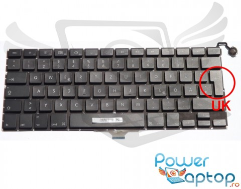 "Tastatura Apple MacBook Air 13"" A1304 2008. Keyboard Apple MacBook Air 13"" A1304 2008. Tastaturi laptop Apple MacBook Air 13"" A1304 2008. Tastatura notebook Apple MacBook Air 13"" A1304 2008"
