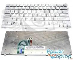 Tastatura Sony Vaio SVE14A17ECW argintie. Keyboard Sony Vaio SVE14A17ECW argintie. Tastaturi laptop Sony Vaio SVE14A17ECW argintie. Tastatura notebook Sony Vaio SVE14A17ECW argintie