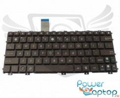 Tastatura Asus Eee PC 1011BX maro. Keyboard Asus Eee PC 1011BX. Tastaturi laptop Asus Eee PC 1011BX. Tastatura notebook Asus Eee PC 1011BX