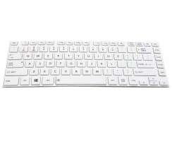 Tastatura Toshiba Satellite C40 A Alba. Keyboard Toshiba Satellite C40 A Alba. Tastaturi laptop Toshiba Satellite C40 A Alba. Tastatura notebook Toshiba Satellite C40 A Alba