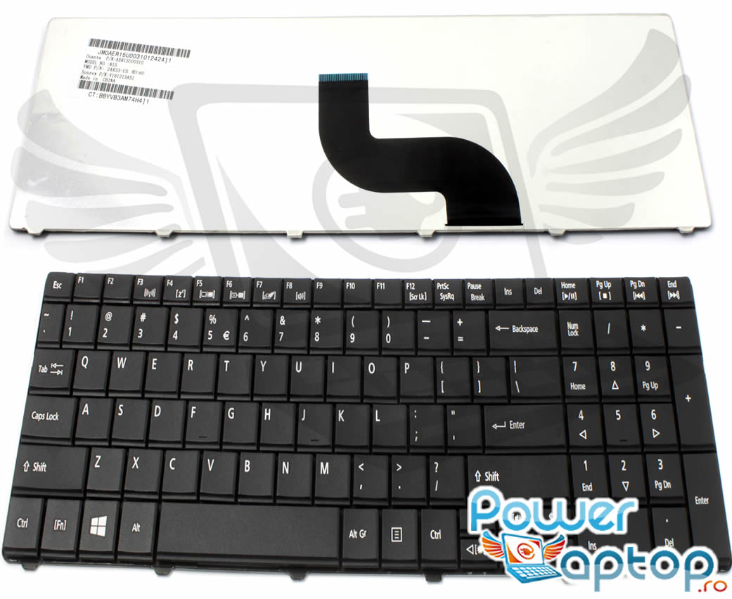 Tastatura Acer Travelmate 6594eG imagine powerlaptop.ro 2021