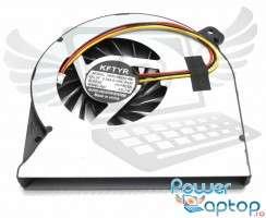 Cooler laptop Asus  K55DR. Ventilator procesor Asus  K55DR. Sistem racire laptop Asus  K55DR