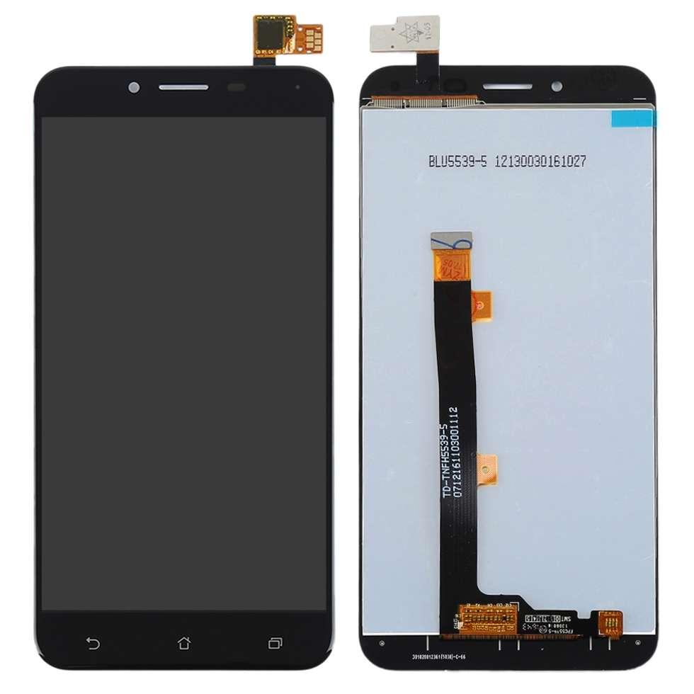 Display Asus Zenfone 3 Max ZC553KL X00DD Black Negru imagine powerlaptop.ro 2021