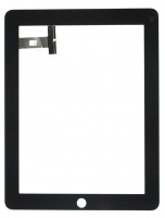 Digitizer Touchscreen Apple iPad 1 A1337 A1219 Negru. Geam Sticla Tableta Apple iPad 1 A1337 A1219 Negru