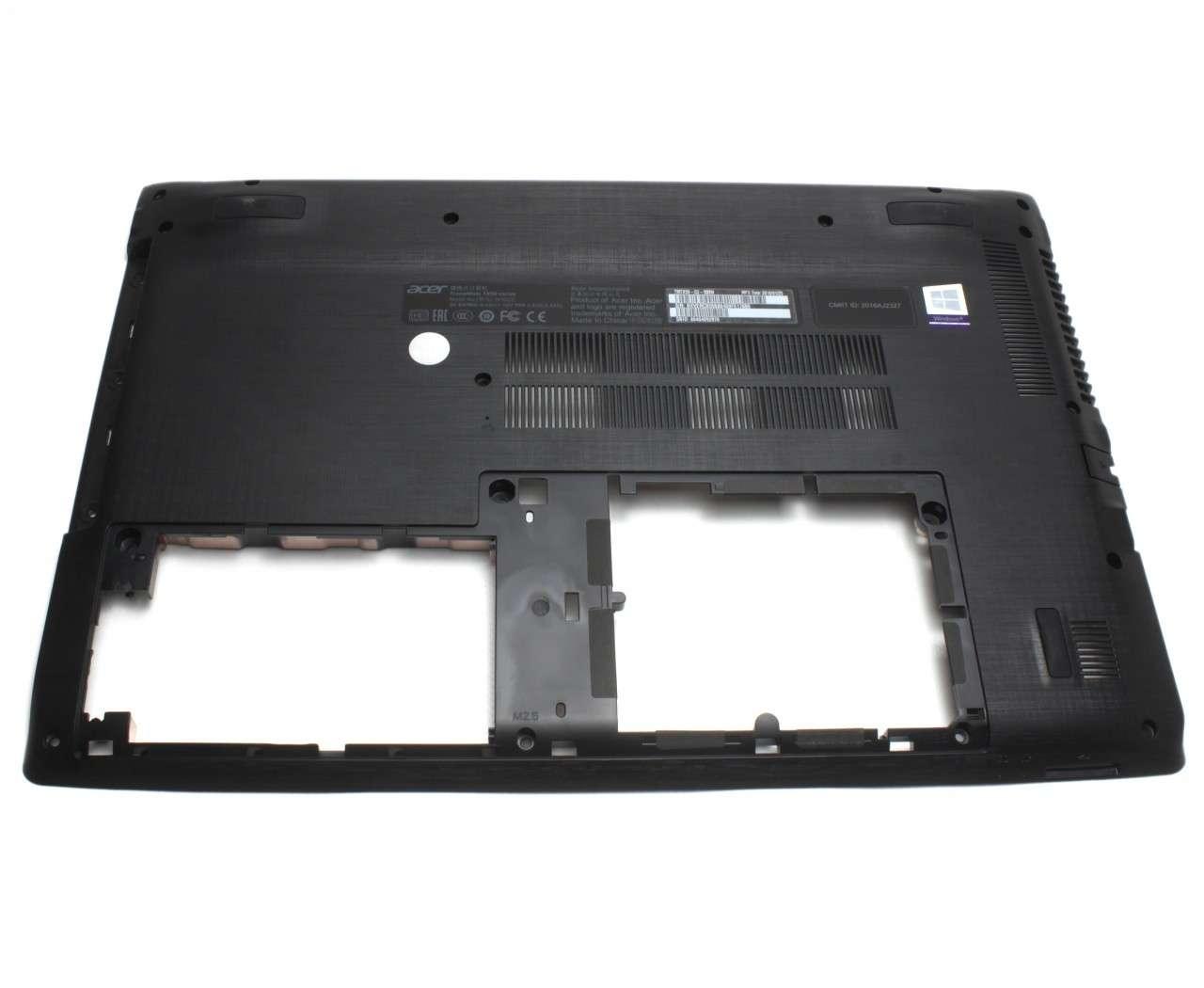 Bottom Case Acer Aspire E5 575TG Carcasa Inferioara Neagra imagine