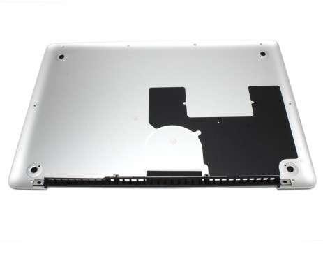 Bottom MacBook Pro Unibody 13 A1278 Mid 2010. Carcasa Inferioara MacBook Pro Unibody 13 A1278 Mid 2010 Argintie