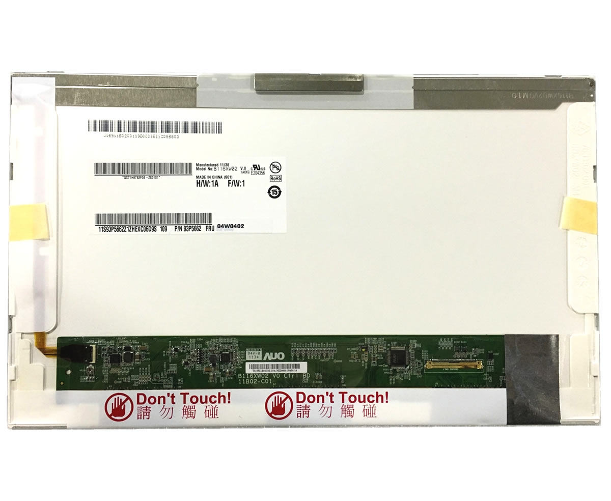 Display laptop Asus Eee PC 1000HA Ecran 10.1 1280x720 40 pini led lvds imagine powerlaptop.ro 2021