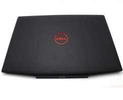 Carcasa Display Dell 0747KP. Cover Display Dell 0747KP. Capac Display Dell 0747KP Neagra cu Logo Rosu