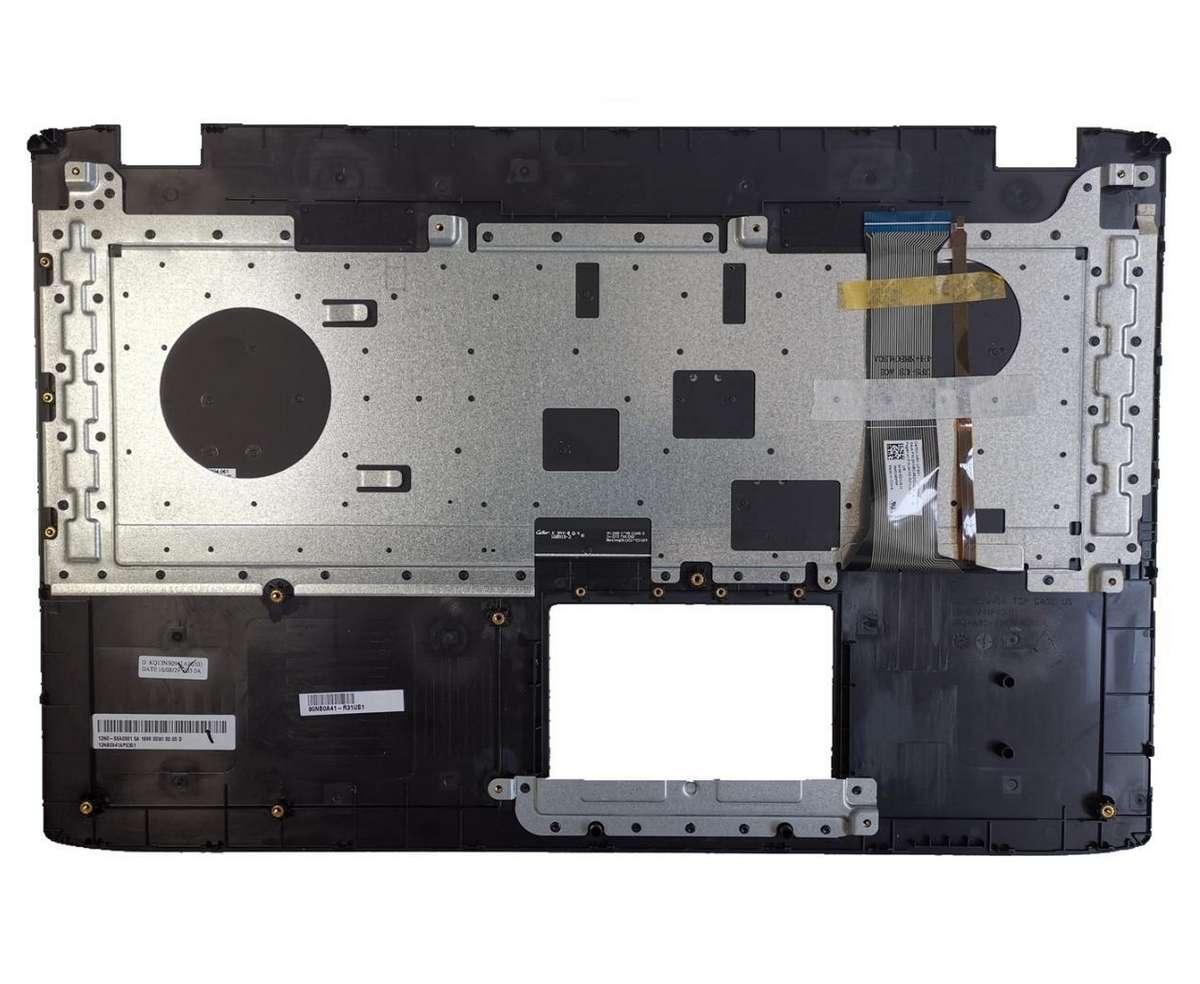 Palmrest Asus ROG GL742VL Negru cu tastatura iluminata imagine powerlaptop.ro 2021